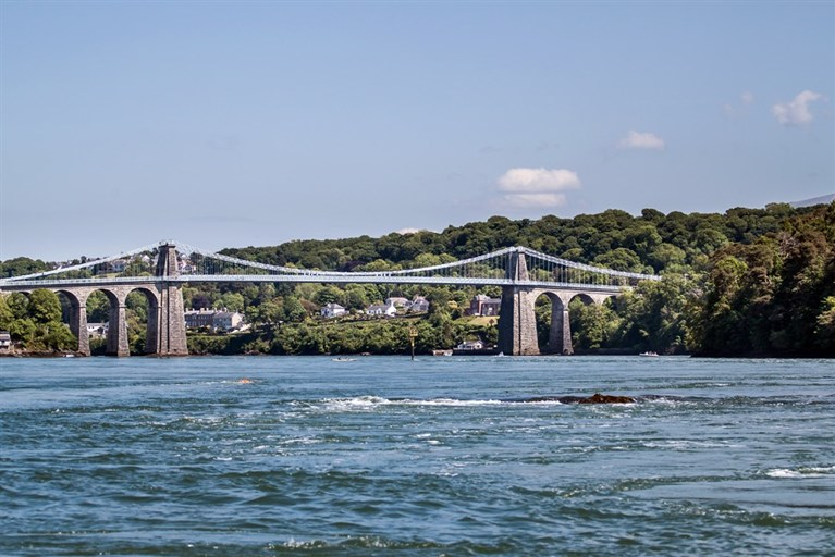 Thomas Telford's Menai Bridge