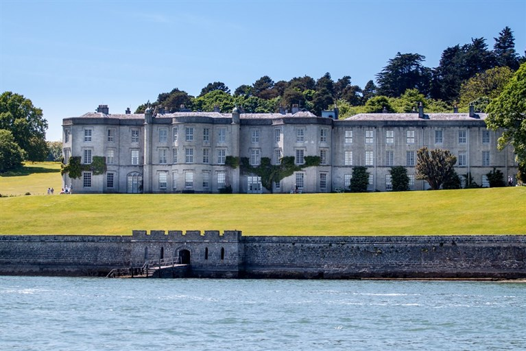 Plas Newydd viewed from the Menai Straits